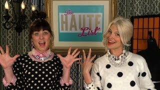 The Haute List: How to Wear POLKA DOTS Thumbnail