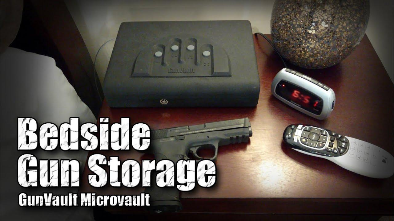 Bedside Gun Safe / GunVault Micro Vault