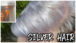 SILVER HAIR   Dejaunir son blond   XP100 12.21