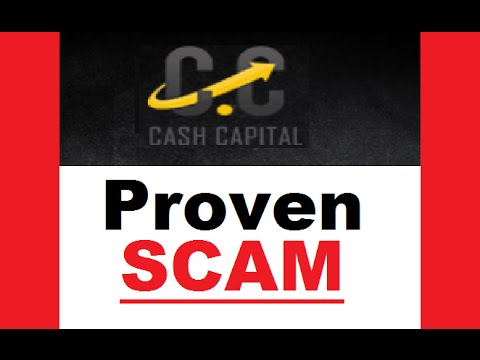 Cash Capital System Review - Busuted SCAM Software (Warning)