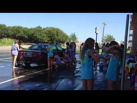 Bishop McGuinness Catholic High School Cheer Car Wash