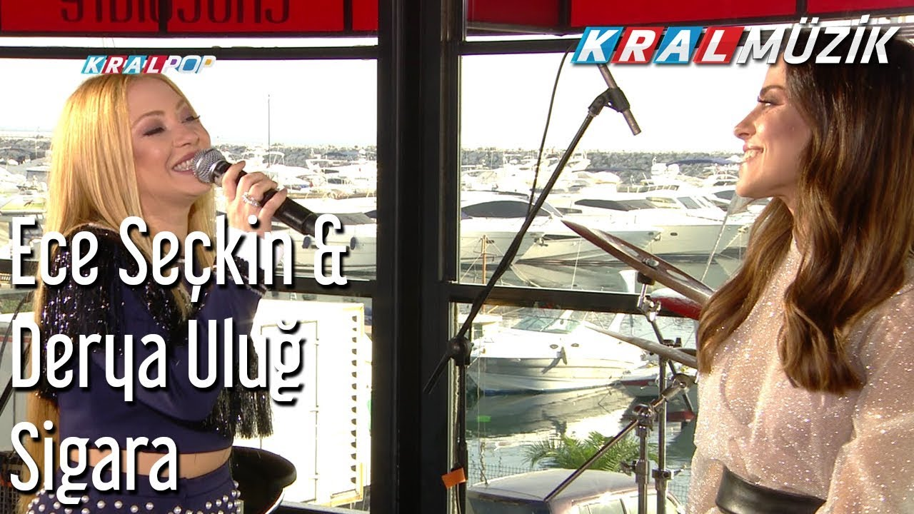 Sigara - Ece Seçkin & Derya Uluğ (Kral Pop Akustik)