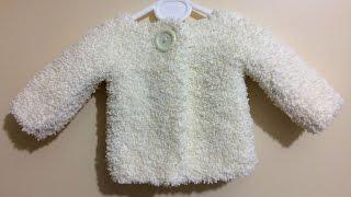 Bebek Hırkası Nasıl Yapılır? (Baştan Sona Anlatımlı) - bebek hırka modelleri - bebek hırkası