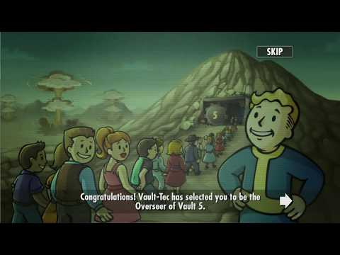 Fallout Shelter - Pro Gameplay (part 1)