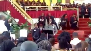 NESBETH FULL TRIBUTE @ HIS WIFE FUNERAL SERVICE