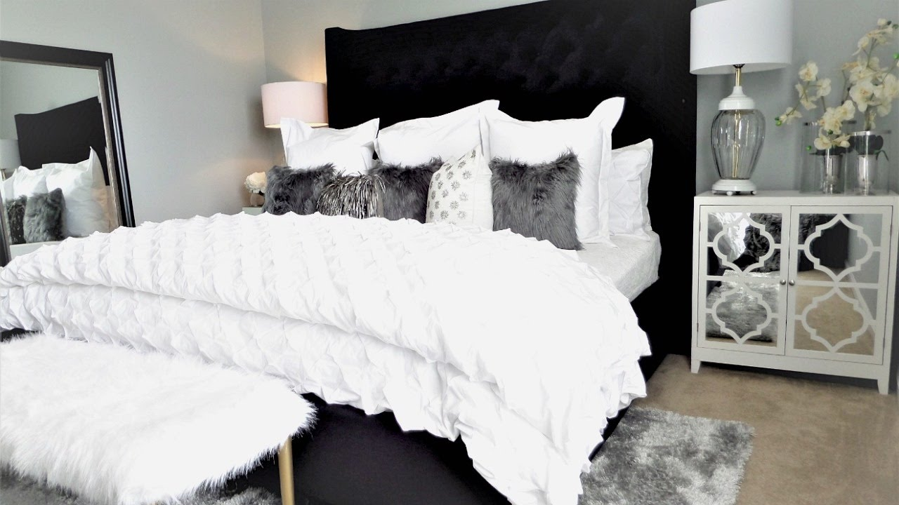 NEW! Luxury Bedroom Makeover Tour & Ideas - YouTube