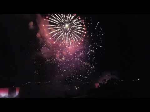 Canada Day 150 Fireworks @ Niagara Falls 2017