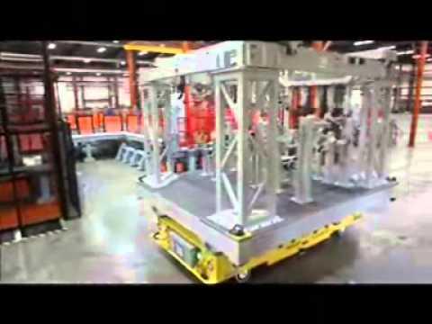 Savant Omni-Directional Heavy AGV Transporter -- Self Loading