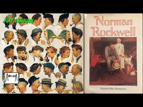 Norman Rockwell Art Book