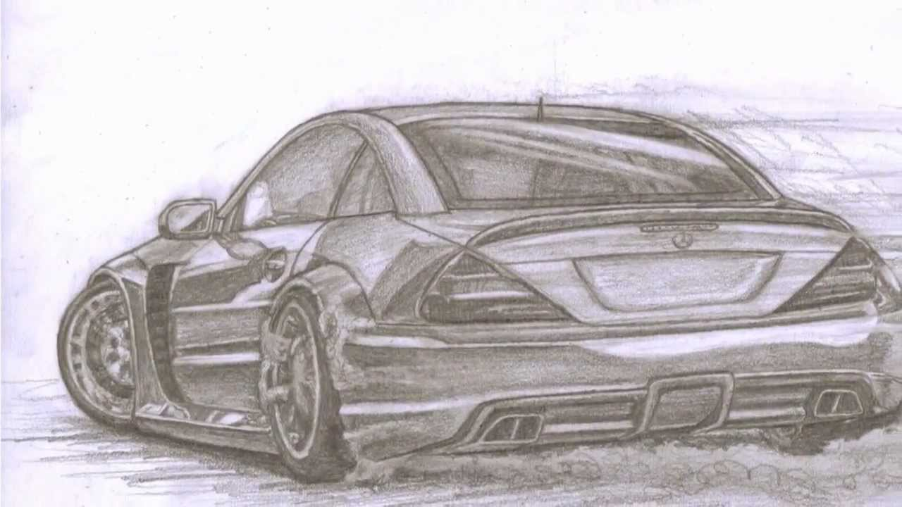 Mercedes Drawing Step By Step Youtube