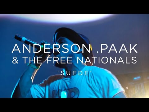 Anderson .Paak & The Free Nationals: 'Suede' SXSW 2016 | NPR MUSIC FRONT ROW