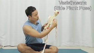 Shoulder Position on Vasisthasana (Side Plank Pose)