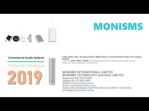 MONISMS and Audinate, Inc  announced a licensing agreement