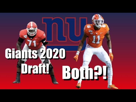 GIANTS DRAFT: How They Can Get BOTH Simmons And Thomas ***REALISTIC (211)