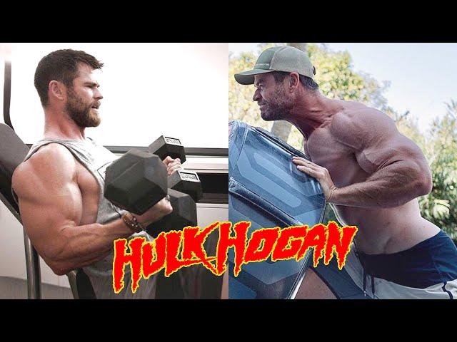 Chris Hemsworth Bulking up for Hulk Hogan Movie