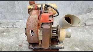 Restoration 2 stroke engine water pump old rusty | Restore old water pump tool