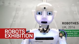 Robots of fiction and fantasy come alive in London's Science Museum
