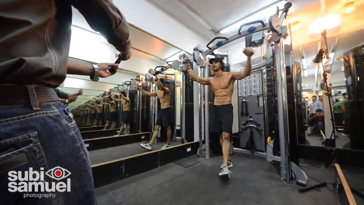 Image result for arjun rampal gym
