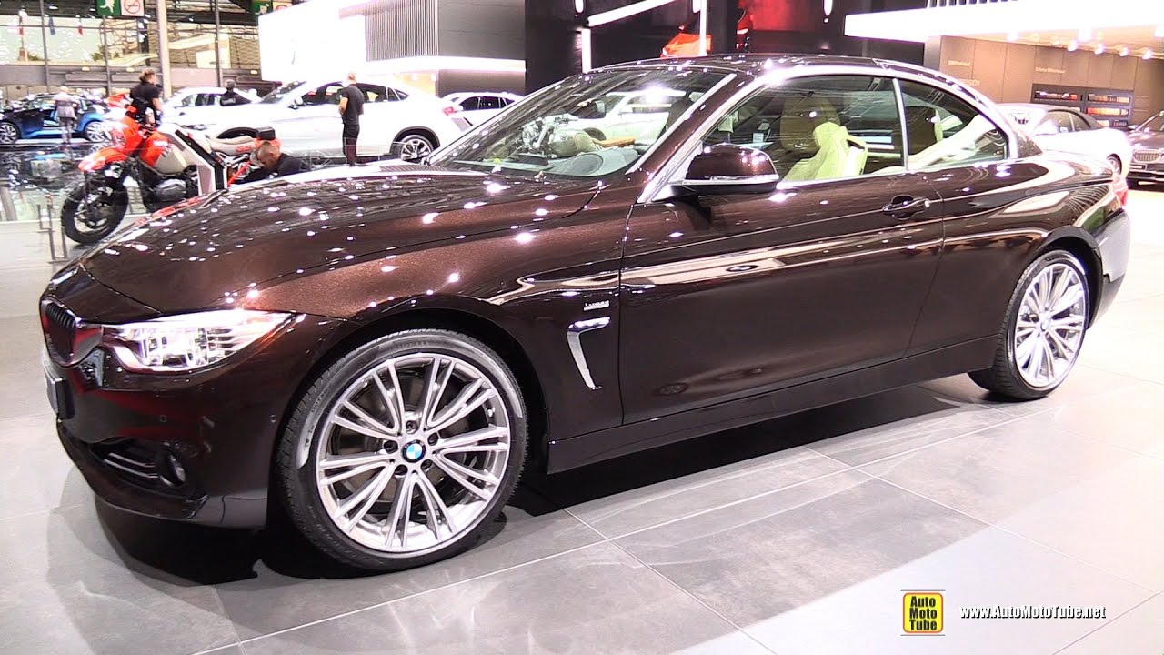 2017 bmw 440i exterior and interior walkaround 2016. Black Bedroom Furniture Sets. Home Design Ideas