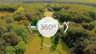 Палац Галаганів, с. Сокиринці - 360°(Головною принадою комплексу є палац шляхетського роду галаганів, який споруджений у стилі ампір., 2016-11-15T12:25:55.000Z)