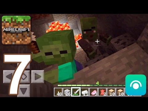 Minecraft: Pocket Edition - Gameplay Walkthrough Part 7 (iOS, Android)