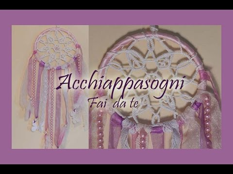 Acchiappasogni fai da te youtube for Panchine fai da te