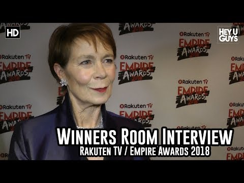Celia Imrie on presenting at the Empire Awards 2018 Winners Room Interview