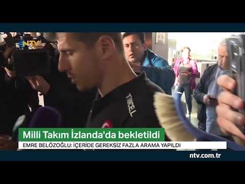 Milli Takım'a İzlanda'da eziyet