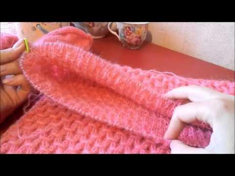Свитер регланом спицами Мир вязания и рукоделия