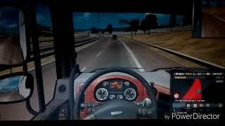 Реальная жизнь в Euro Truck Simulator ( прошел обучение на отлично взяли на работу) #1