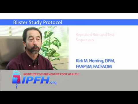 Blister Study Protocol