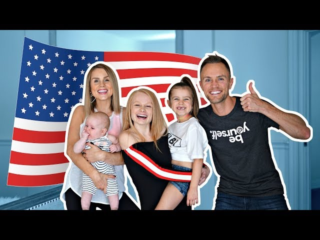 OUR FIRST DAY LIVING IN USA!! 🇺🇸