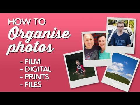 How to Organise Photos (Film & Digital) | A Thousand Words