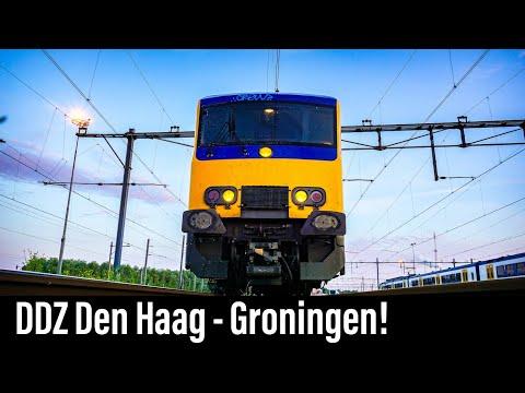 4K Cab Ride NL Den Haag CS - Schiphol - Groningen / IC 773 / 26-06-2019