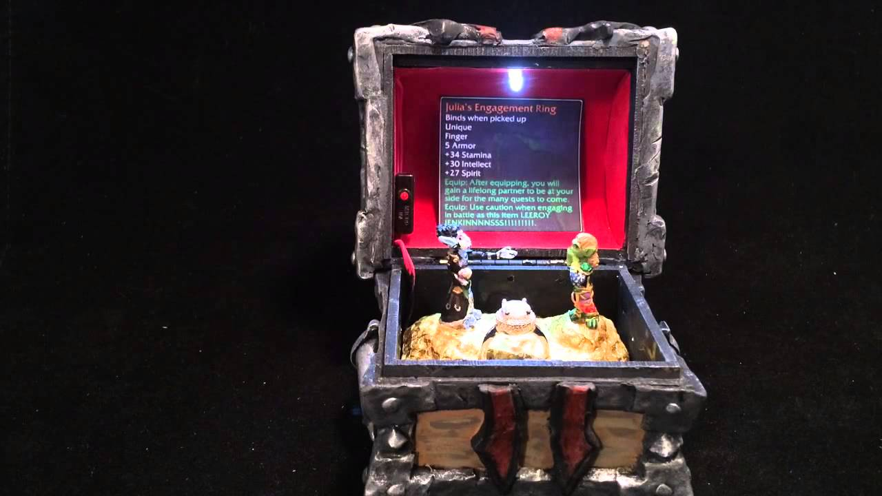 world of warcraft horde armory chest custom engagement