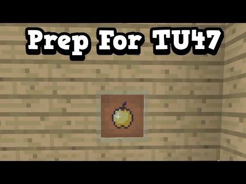 Minecraft Xbox One / PS4 - 5 WAYS TO PREPARE FOR TU47