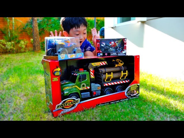 New Toys Hide and Seek Game Play with Papa Car Toy Video for Kids