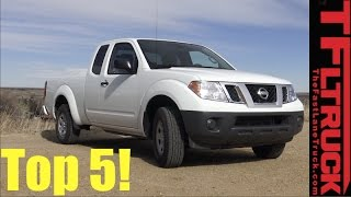 Final Frontier #5 2017 Nissan Frontier King Cab S: Top 5 Things We Like
