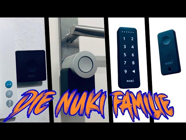NUKI Fob & Keypad die perfekte Ergänzung für das Smarte Türschloss | Lets do it