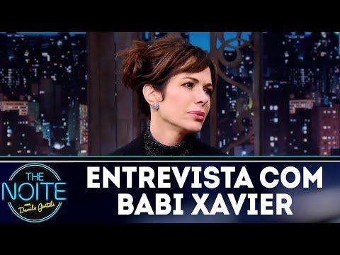 Entrevista com Babi Xavier | The Noite (27/07/18)
