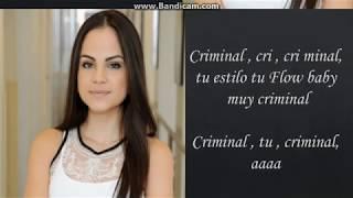 Criminal Natti Natasha Ft Ozuna Letra