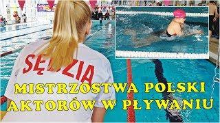 Mistrzowstwa Polski Aktorów w Pływaniu 2019. Pływalnia KAPRY Pruszków.