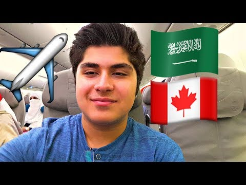 TRAVEL VLOG: JEDDAH, Saudi Arabia TO TORONTO, Canada ABDULLAH AL JARAD