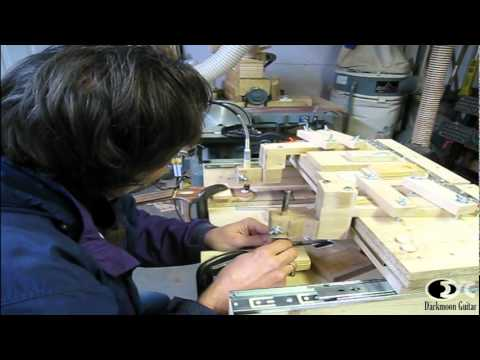 Inlaying with the use of pantographe