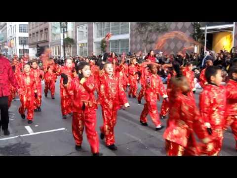 San Francisco Chinese New Year Parade 2012 Stonebrae Elementary School Chinese Immersion Program