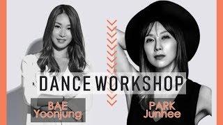 BAE YOONJUNG & PARK JUNHEE DANCE WORKSHOP IN PARIS!