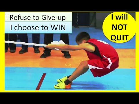 Push your Limits: NEVER GIVE UP !  Young boy  REFUSE to be DEFEATED : Best Motivational video