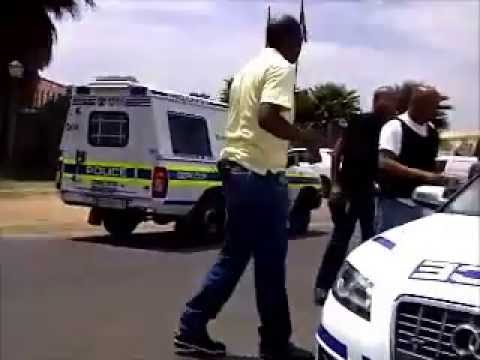 Amptech South Africa , South African Police action chase