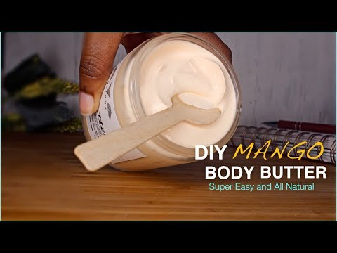 DIY Mango Body Butter | Back to School Body Butters ft. Oslove Organics + GIVEAWAY CLOSED!🎉