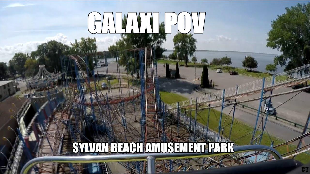 Galaxi Roller Coaster Sylvan Beach Amut Park Pov